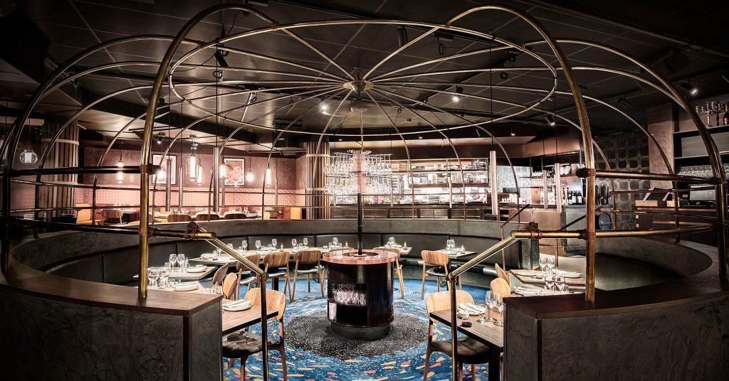 Rörinramning på restaurang Tako - Lerch snickeri & inredningar