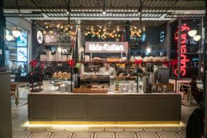 Café Vetekatten i anslutning till restaurang Regeringsgatan 21 i Gallerian
