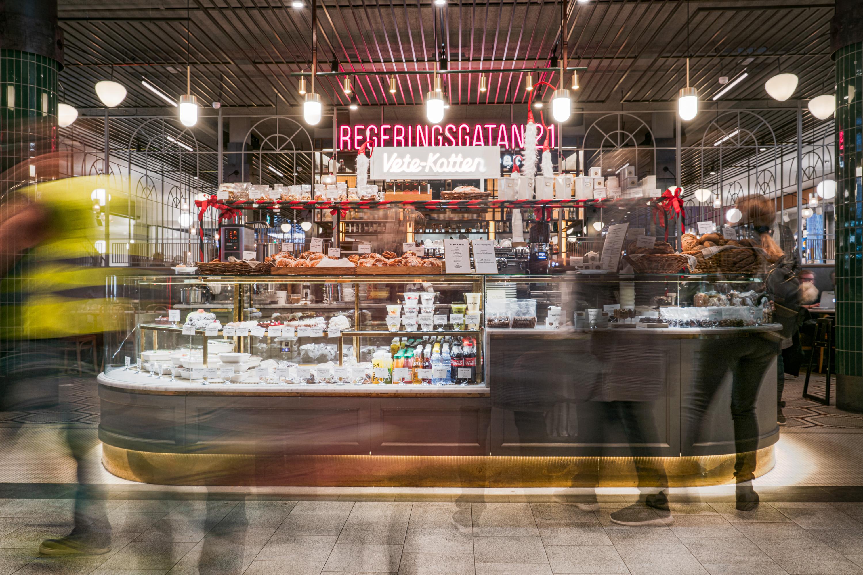 Restaurang Regeringsgatan 21 och Vetekatten Cafe