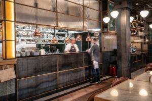 Köket på restaurang Regeringsgatan 21