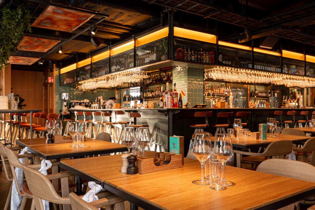 Restaurang Boqueria Åre bar