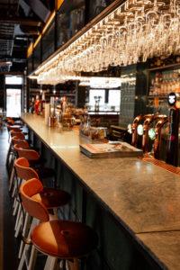 Restaurang Boqueria Åre Bardisk detalj