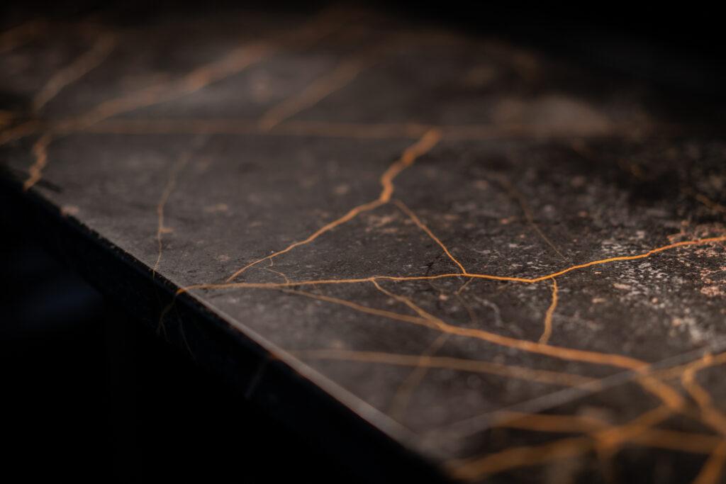 Detaljbild Barskiva Restaurang Gioia Lerch Träinredningar